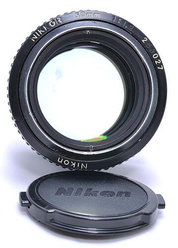 [Rare Item]Nikon MF 50mm f/1.2 Ais