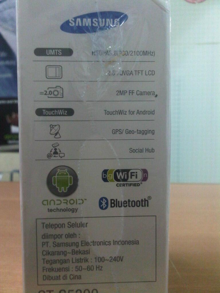 FS Samsung Galaxy Pocket GT-S5300 BNIB 1jutaan