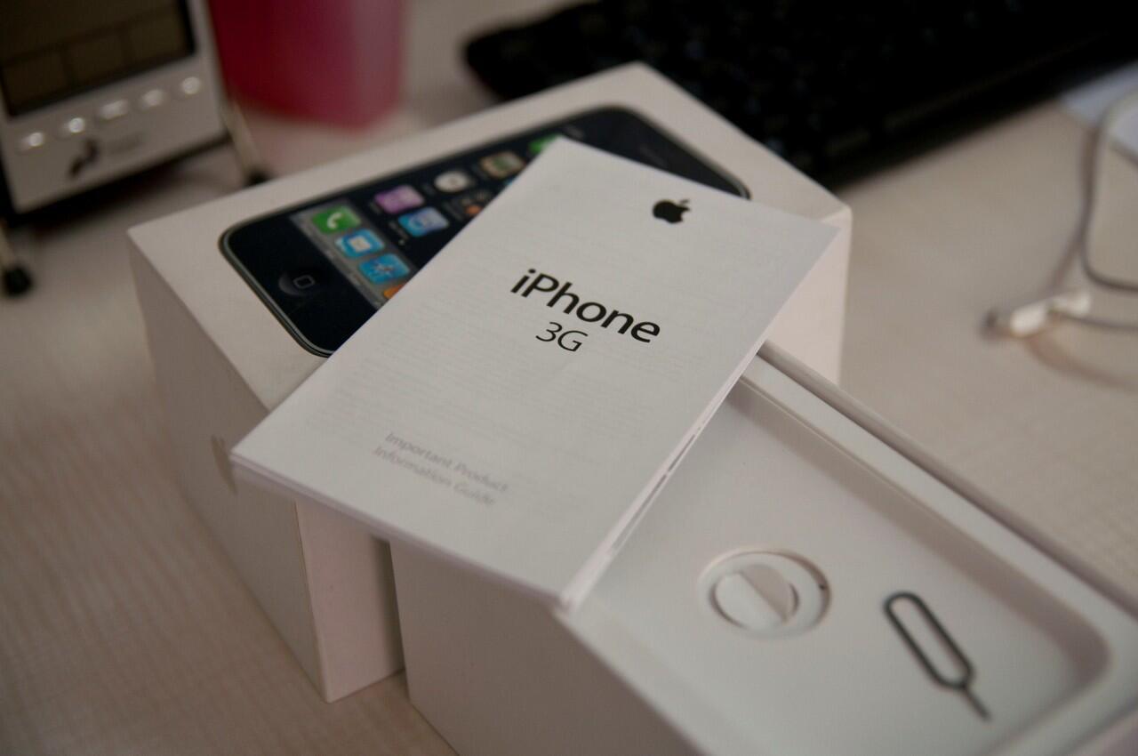 JUAL APPLE IPHONE 3G 16GB WHITE 2nd Istimewa