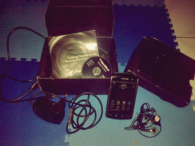 Jual BlackBerry Storm 1 9530
