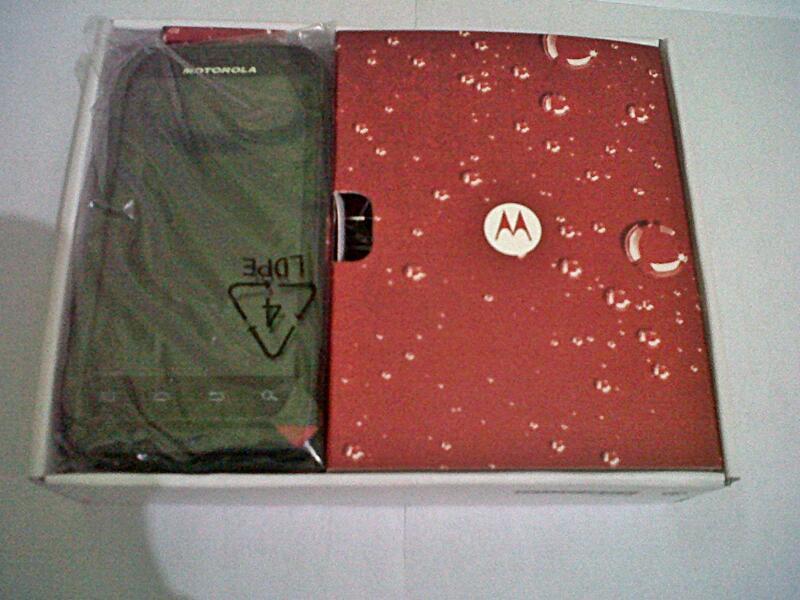 Motorola Defy XT535 Baru 1 hari Bandung