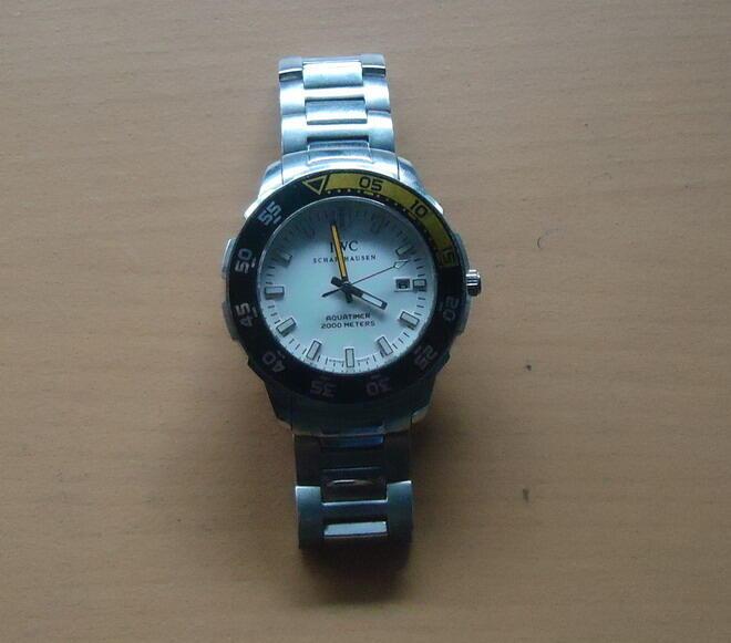 jual hp nokia 1280 dan jam tangan automatic/otomatis tanpa batre IWC jogja