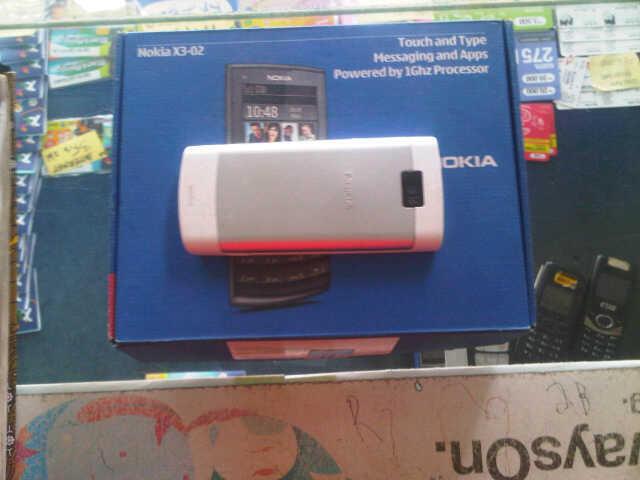 Jual Cepat Nokia x3-02 touch n type solo aja