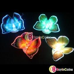 Lampu LED Kupu2 Cantik, Bisa nempel di tempat yang diinginkan untuk hiasan !! Murahhh