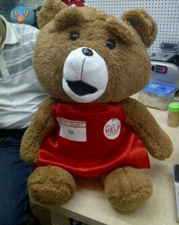 WTS : Boneka TED 50cm MURAH