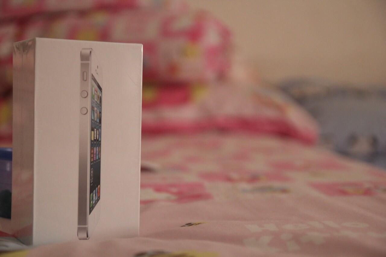 iPhone 5 16GB White BNIB+FU. Sangat Murah!