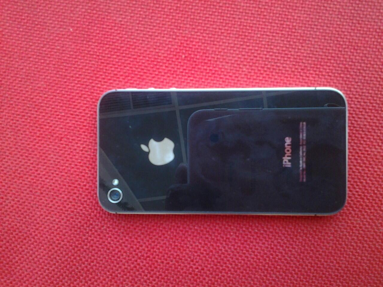 iphone 4 cdma black 8gb mulus dan murah