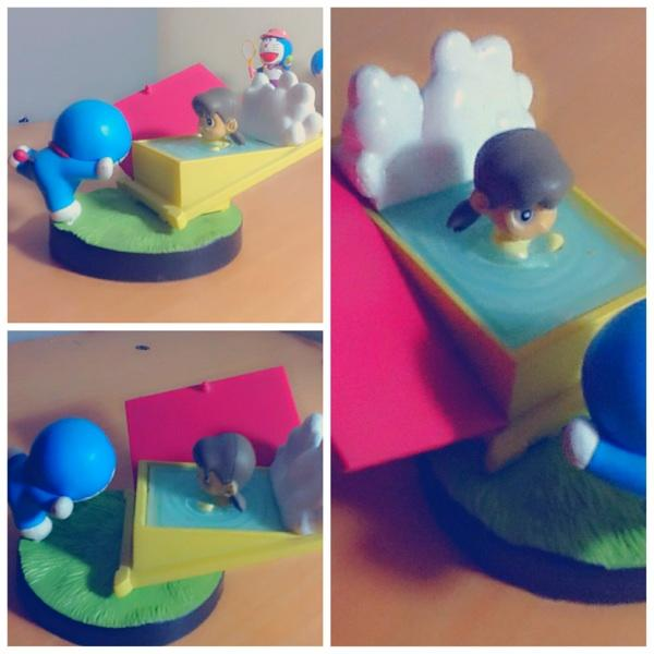 action figure doraemon and friends