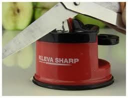 KLEVA SHARP Pengasah Pisau dan Gunting