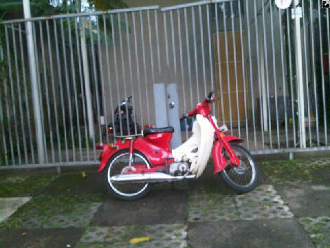 WTS : Honda PISPOT thn 71 STNK BPKB