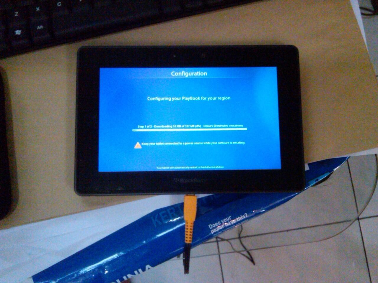 JUAL : Blackberry PLAYBOOK 64GB (TAM 17 bln)