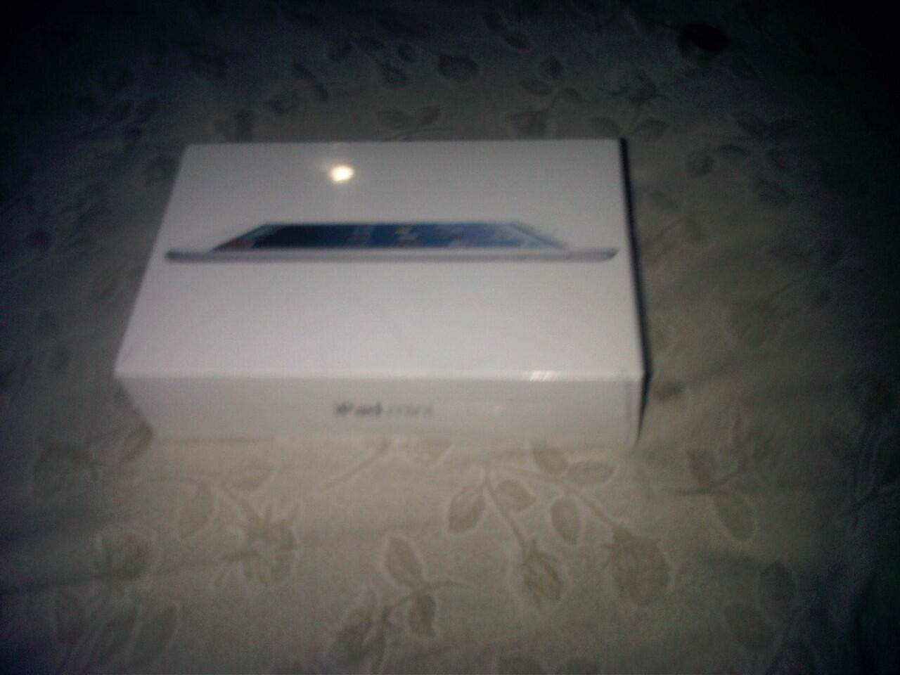 [JUAL] [BEST PRICE] iPad Mini 4G+Wi-Fi 16GB WHITE BNIB, 1 thn garansi apple inter