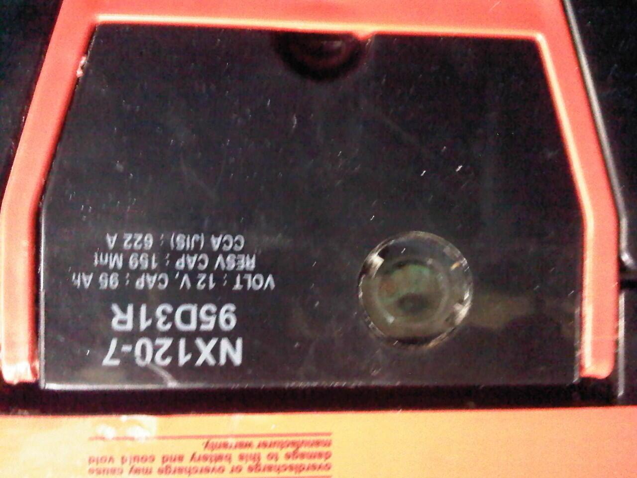 Jual AKI NGS Volcano MF 12V 95Amh Sehat 100% g jadi dipakai