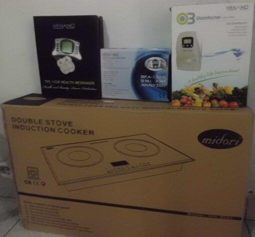 Kompor Listrik MIDORI double stove induction cooker ^^