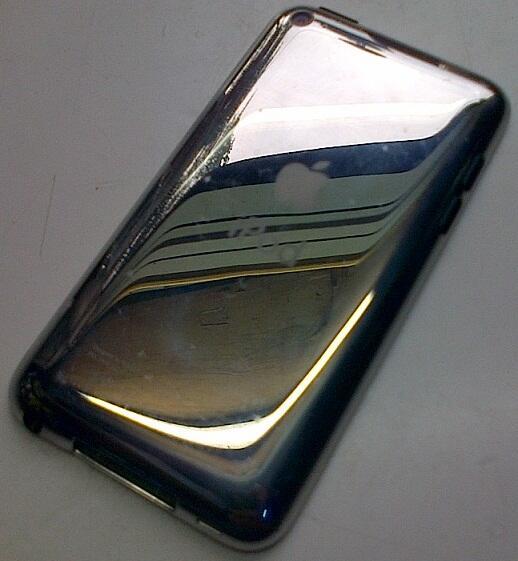 Jual iPod 4th Gen 32 GB Jailbreak Komplit Mulus bonus Capdase & Standing
