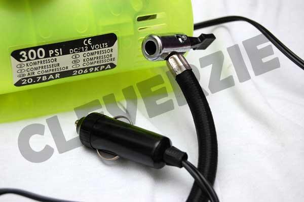 Jual Mini Kompresor 12V 300psi Kenmaster untuk pompa ban disaat darurat