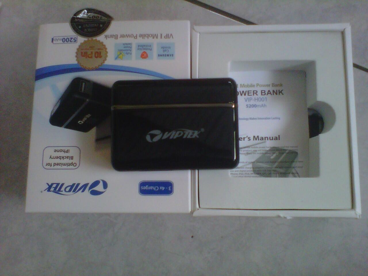 POWER BANK VIPTEK,RESSELER WELCOME......BUKAN MURAHAN!!!