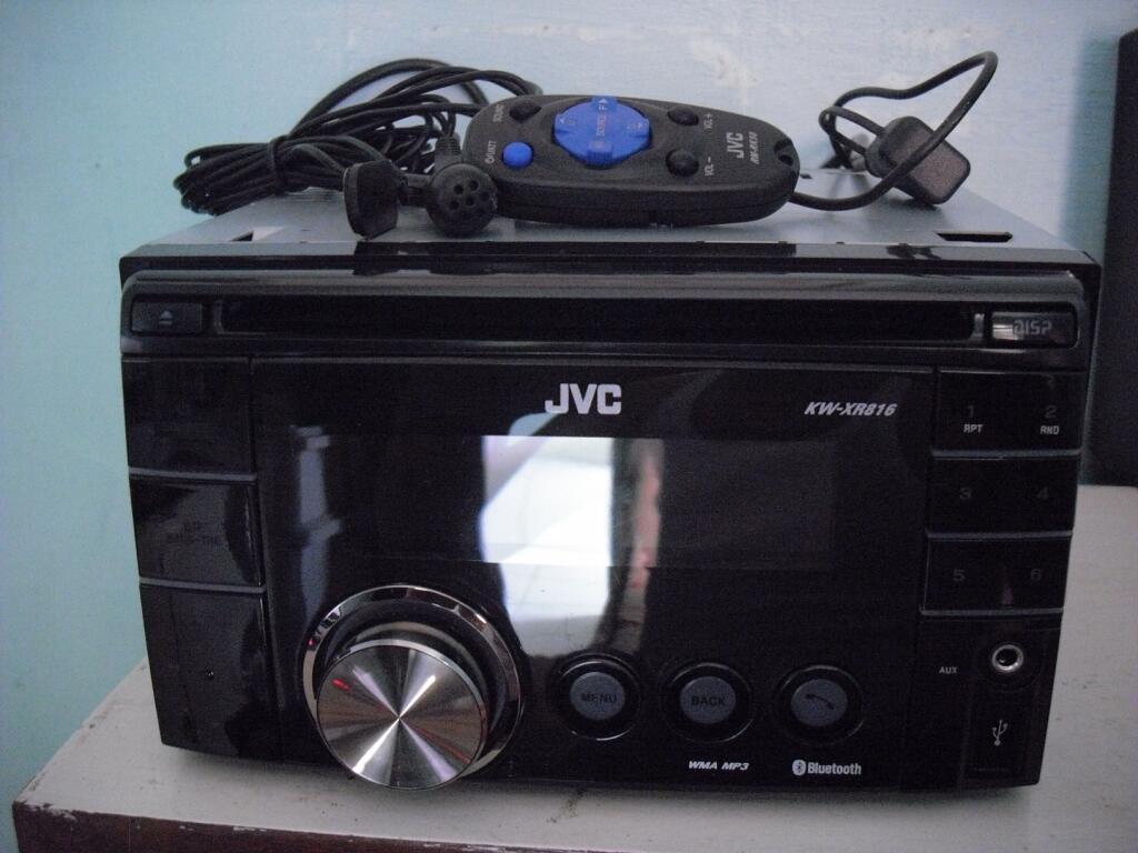 Head Unit 2 Din JVC KW XR816
