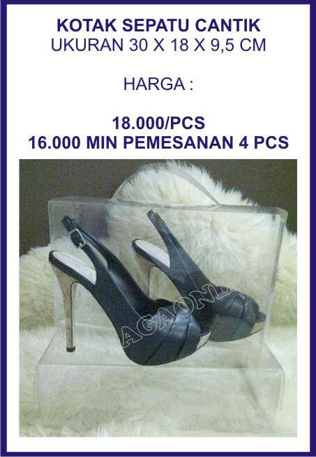 Sepatu, Sendal dan Dompet Wanita