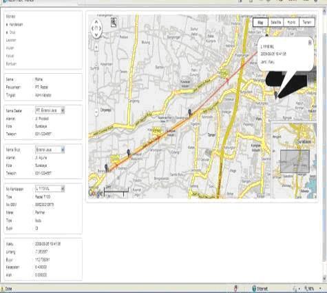 GPS Tracking Raztel T320