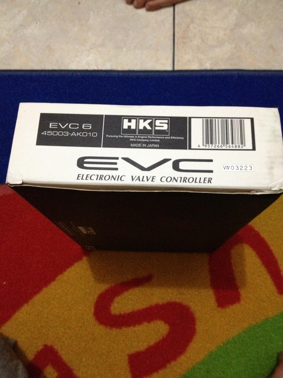 WTS : HKS EVC 6 boost controller