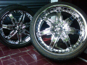 "WTS : Velg 18"" chrome , double pcd innova, buat CR-V BMW MERCY INNOVA"