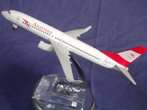 Hobby kesukaan koleksi toys replica Die Cast Metal besi pesawat AUSTRIAN AIR PLANE