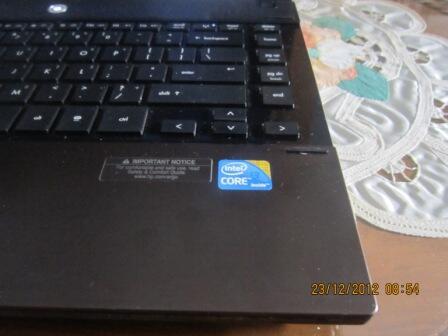 laptop HP PROBOOK 4420S,CORE I3,RAM 2GB,BATt3JaM,HD250GB,MOUSE WireLess