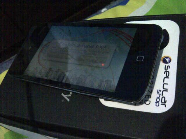 iPod touch (itouch) 4th gen 32gb black [yogya / jogja]