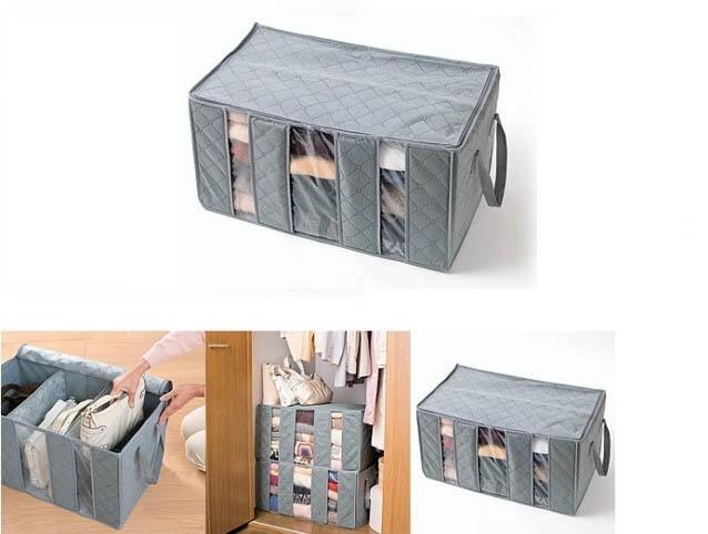 Tas Penyimpan Pakaian | Foldable Storage Bag 65 L