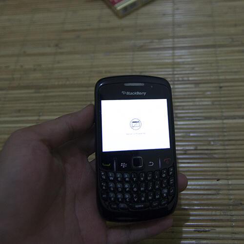 Blackberry Aries aka 8530 rusak