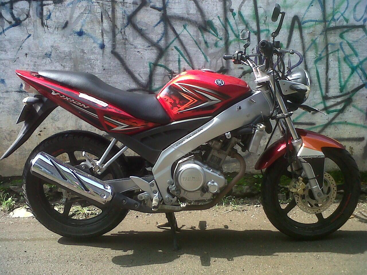 Cari Yamaha Vixion MODIF SIMPLE STREET FIGHTER 2007 Mesin Bagus