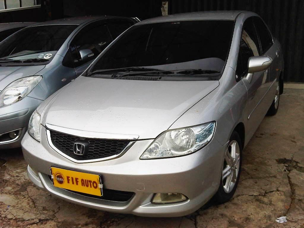 HONDA CITY VITEC MT 2007 SILVER METALIK
