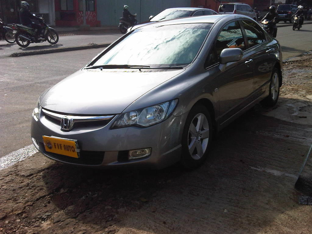 HONDA ALL NEW CIVIC 1.8 VITEC AT 2007 AKHIR SILVER STONE