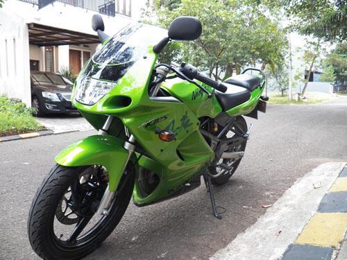 Kawasaki Ninja 150 KRR 2011 Hijau Mint Condition