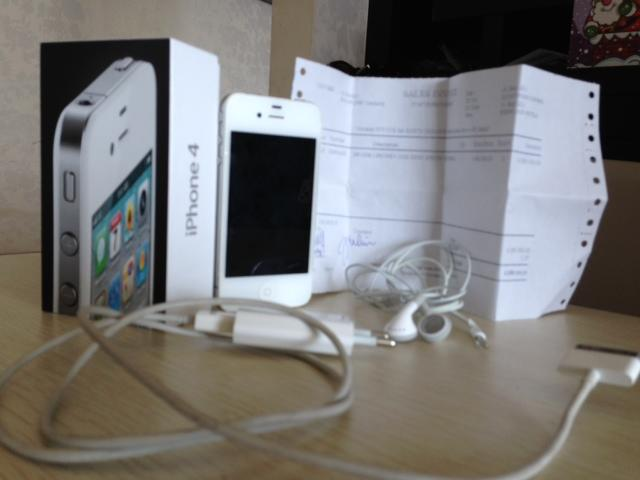 Iphone 4 16GB White second