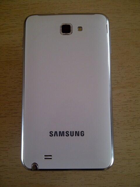 Samsung Galaxy Note 1 GT-N7000 white, kinyis2-Bandung