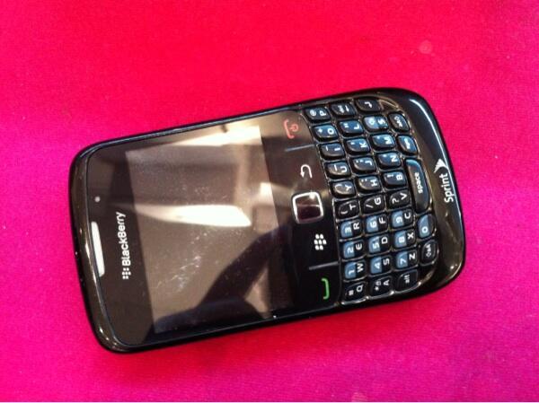 Blackberry Aries kondisi apa adanya