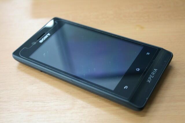 Liat dulu gan !! Sony Xperia miro black St 23i garansi 11 bulan fullset ori like new