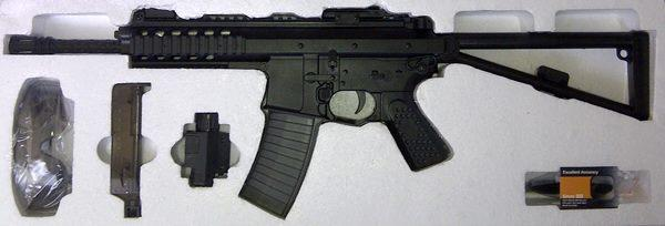 Airsoft Gun and Kit Ready Stock [Rifle, HandGun, Shotgun, Google, Vest etc]