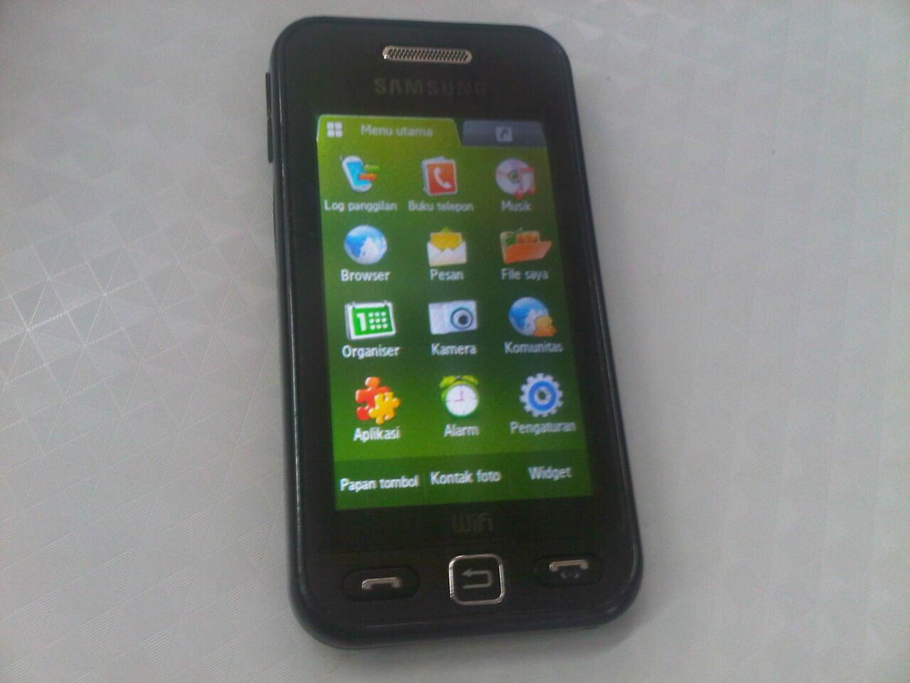 Samsung star wifi Gt-S5233w segel fullset semarang
