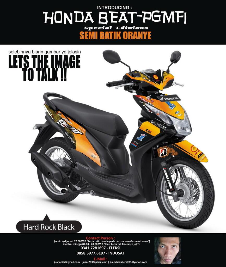 Download Koleksi 50 Modifikasi All New Honda Beat Fi Terbaru Bayem