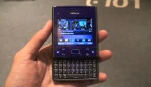 Dijual Nokia x5-01 biru