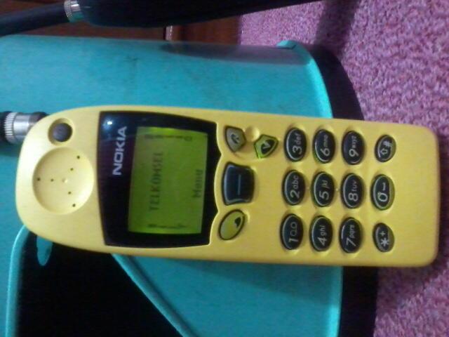 2 hp jadul Nokia 5110 Antena Panjang MOdif