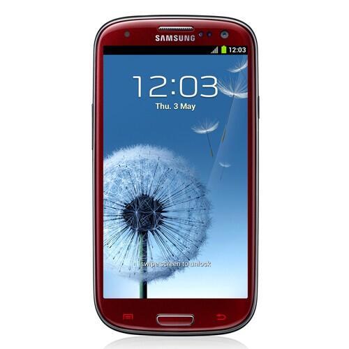 Samsung Galaxy S III - Marble White & Garnet Red