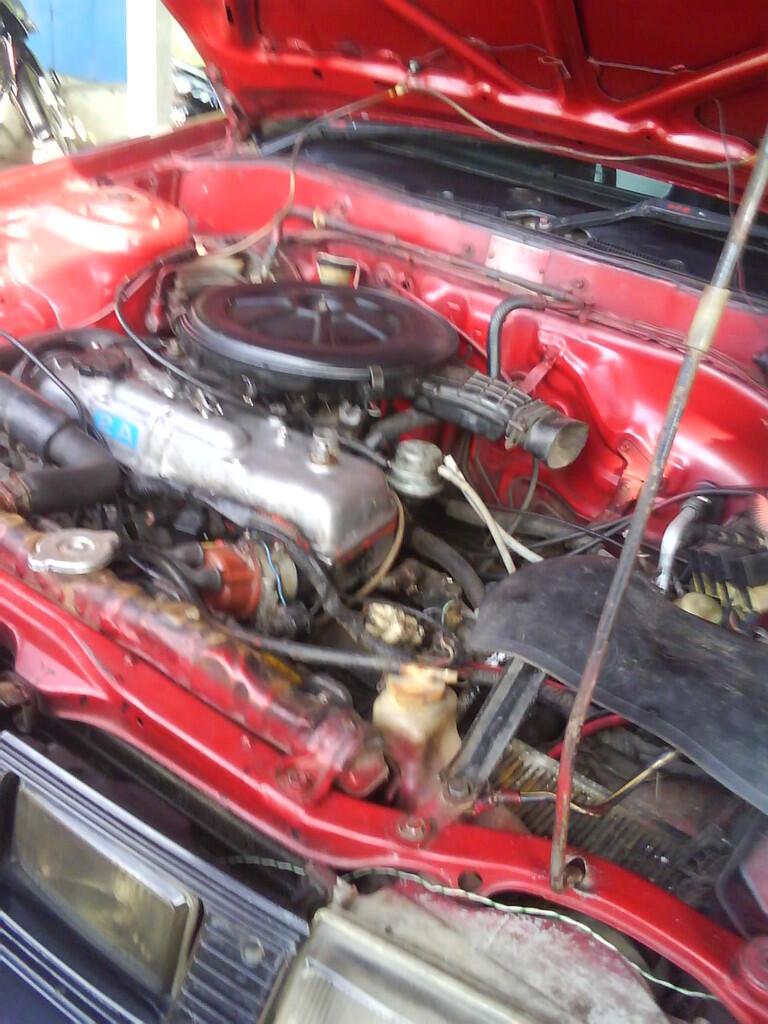 toyota Corolla GL Th 83' Merah 26Jt Nego Tipis