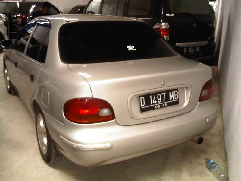 Bimantara Cakra 1.5 M/T Warna Silver Tahun 96 Plat D (Kodya)