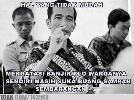 Buat orang yang suka meremehkan Jokowi