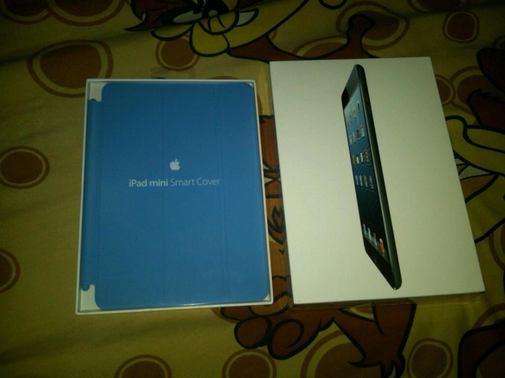 BNIB iPad Mini WIFI 64GB Black cuma 6juta pas!