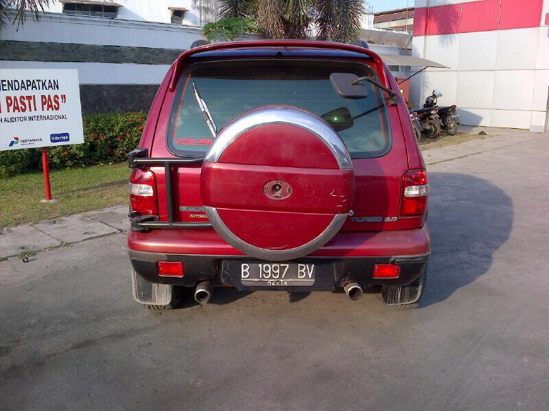 KIA Sportage 4x4 Merah Ors Siap pakai
